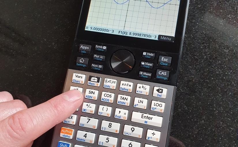 Jag införskaffade mig en nyräknare…